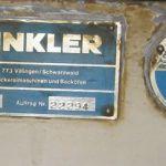 Winkler 307 sämpyläkone 5 rivinen